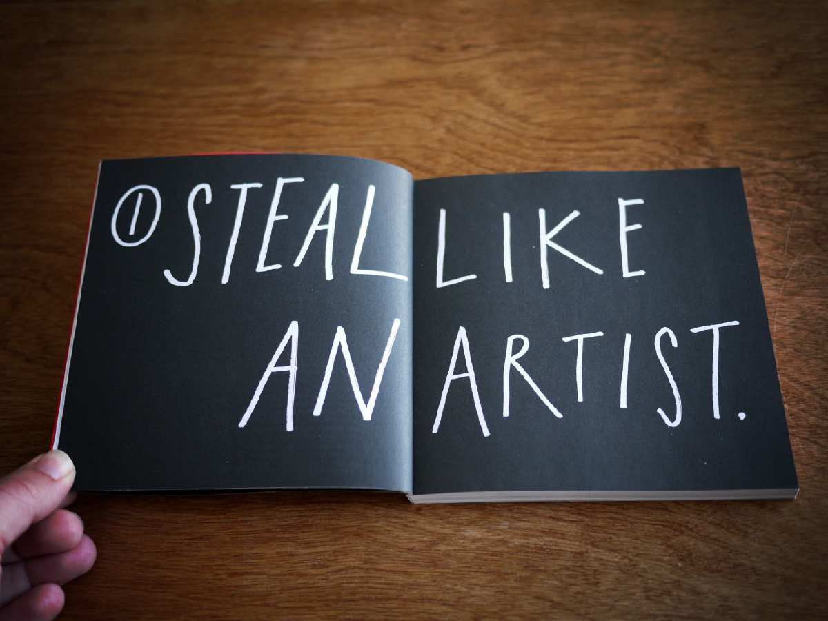 Book reading 'Steal like an artist'